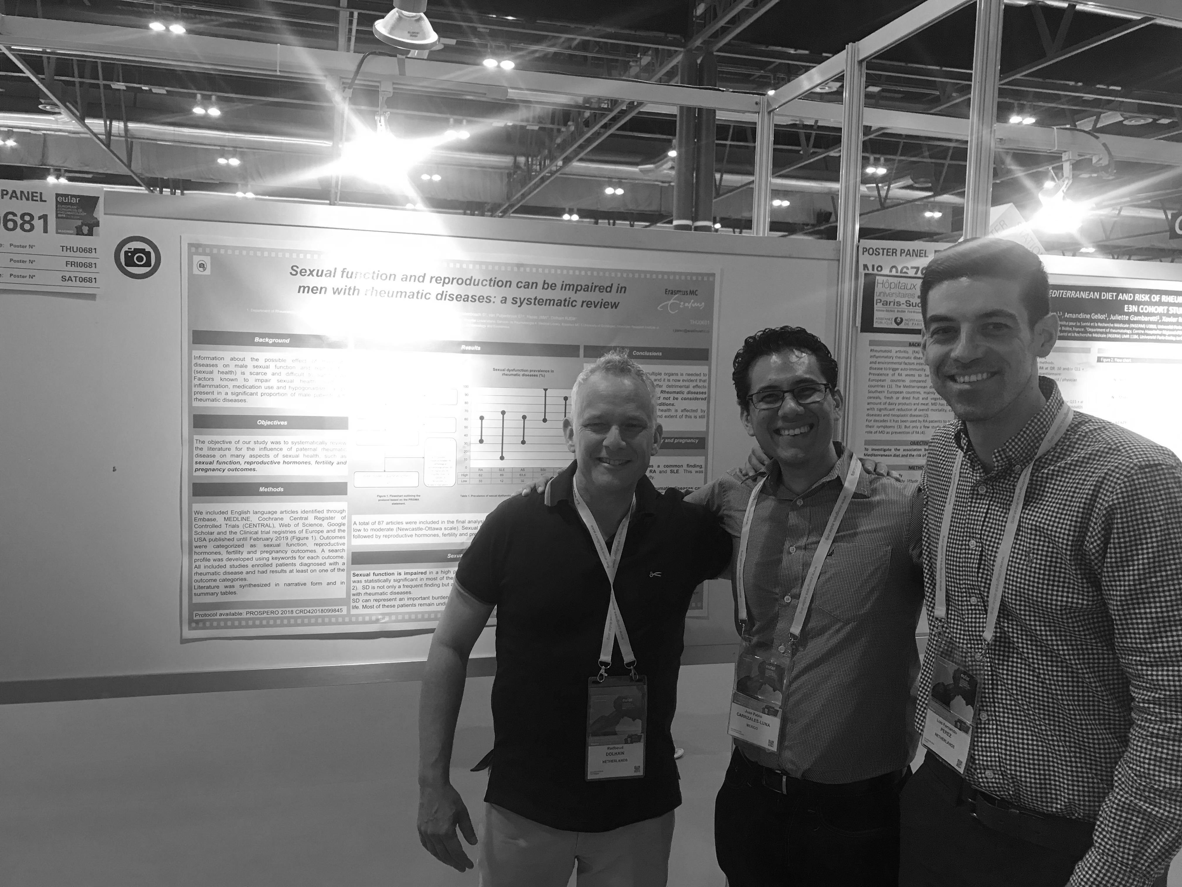 Foto con Dr. Dolhein y Dr. Pérez